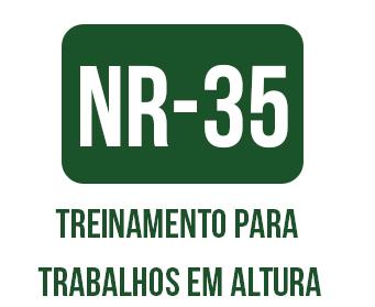 OBJETIVO  Atender a Norma Regulamentadora Trinta e Cinco (NR-35) do MTE que  prevê que toda empresa que realize trabalhos em altura, promovam treinamento  ... 1558245559